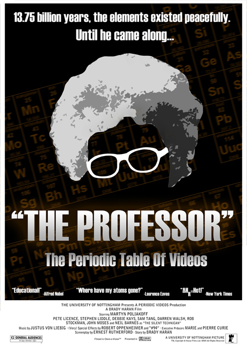 Posters the periodic table of videos university of nottingham poster urtaz Image collections